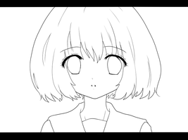 Lineart Gumi Megpoid by Nypaah