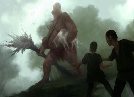 The Giant by andrewmar