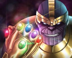 Thanos- Six gems to rule them all by gidge1201