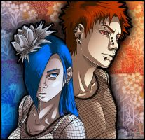 Pein and Konan by Arianne7