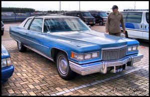 1975 Cadillac Coupe De Ville by compaan-art