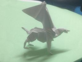 PAPER Harry Potter Hippogriff by soulmasterpisces