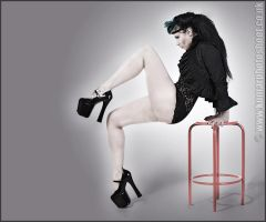 Red Stool by SarahInTortureland