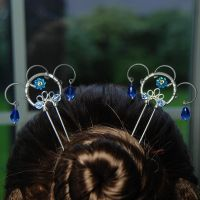 Sapphire Hair Pins v2- SOLD by YouniquelyChic