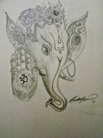 Lord Ganesh by rgopal