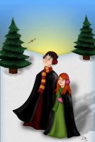 Albus and Lily by littlemcbeast