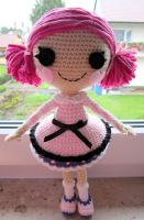 Lala inspired crochet doll by annie-88
