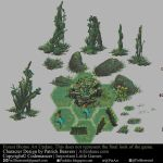 Codemancer Forest biome deco 01 by Puillustrated
