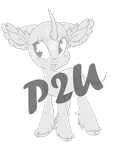 Pay to use: Kirin/Quilin MLP Foal by Rannarbananar