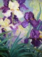 Wild Iris Detail by HouseofChabrier