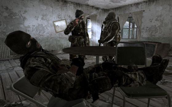 Call of Duty 4: SAS 4 by itbei