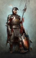 Knight by joewardart