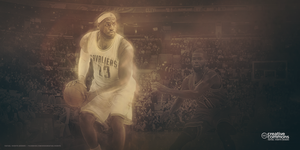 LEBRON JAMES - CLEVELAND CAVALIERS - 2014 by RafaelVicenteDesigns