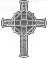 Celtic Cross tattto 2 by willsketch