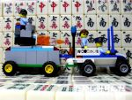 My 9th LEGO Build: Mobile Police Command #4 - 5 by takeshimiranda