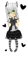 Gothic girl adopt [closed] by doomishadopts