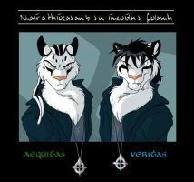 Aequitas and Veritas by littlebluewolf