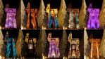 Illuminations of Strasbourg Cathedral Summer 2012 by Cloudwhisperer67