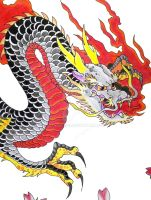 Japanese Dragon by Stacey2512
