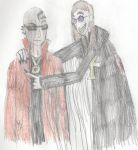 Bayonetta and Brutal Legend- Rodin and the GOM by The-Max765