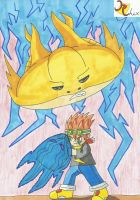 Golden Ray Oversoul Level 1 by RiderRhix