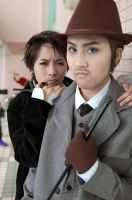 Holmes and Watson -cos by vvvv4242