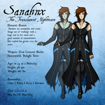 Sanahnx: Reference Sheet (Mk5) [Neo-Org] by Oakfur422