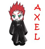axel 1st drawing of him WOOT by KinderWulf