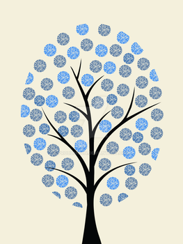 Blue Tree by Proudmoon