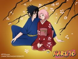 SasuSaku: Memories Of Spring by Kyuuzen