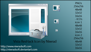 Vista ResHack Icon by Niwradsoft