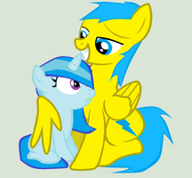 Doll Gift SnowBall and Blue Lightning by BlueLightning12