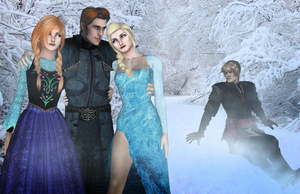 XNA Frozen - Hans forgot to turn his charm off by DeathsFugitive