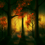 Forest on fire 2 by CuteReaper
