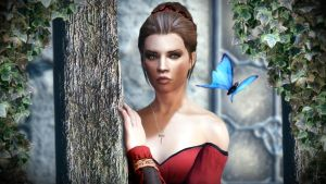 Butterfly by amnis406