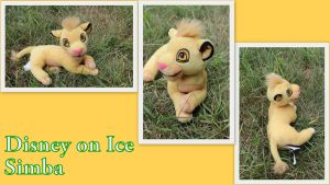 Disney on ice lying Simba by Laurel-Lion
