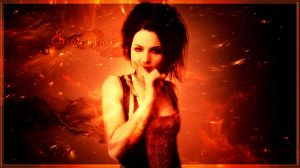 Evanescence Wallpaper by MissSilverFyre
