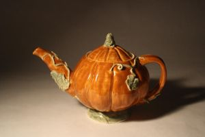 Pumpkin Teapot by KCJoughDoitch