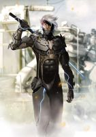 raiden metal gear rising by gothicmalam91
