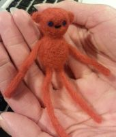 Needle Felt: Hambo from Adventure Time by BiZria