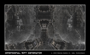 dimensional rift generator by fraterchaos