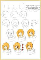 Anime tutorial_headshot by projectVIV