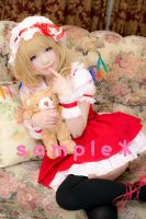 Flandre Scarlet Cosplay Sample #1 by Shiizuku
