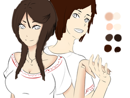 Mila and Dragos WIP by xXCookieKiddoXx