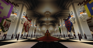 Fantasy Castle- Throne Room- WIP by AnotherLost