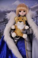 Dollfie Dream Saber+Plush Lion by Wolfheinrich