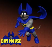 Batmouse Running by MalottPro