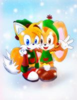 Tails and Cream by Fear-Kun