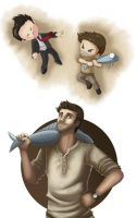 Uncharted 3 - Ultimate Weapon by RBlakeArt