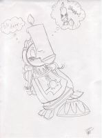 Lumiere KISS Cogsworth 8D by Twinkel13